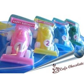 Świeczki Zabawki Podstawki - Autko