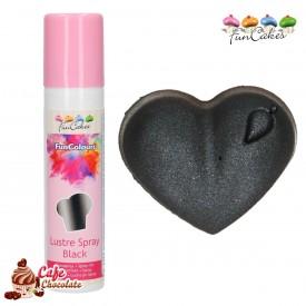 Barwnik Spray Metaliczny Czarny 100 ml FunCakes