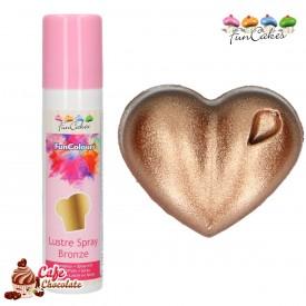 Barwnik Spray Metaliczny Brąz 100 ml FunCakes