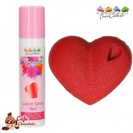 Barwnik Spray Metaliczny Różowy 100 ml FunCakes