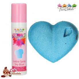 Barwnik Spray Metaliczny Srebrny 100 ml FunCakes