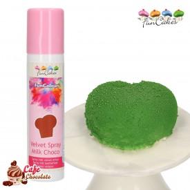 Barwnik Spray Zamsz Ciemny Brązowy 100 ml FunCakes