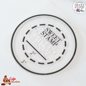Okrągła Płytka z klejem PickUpPad Sweet Stamp