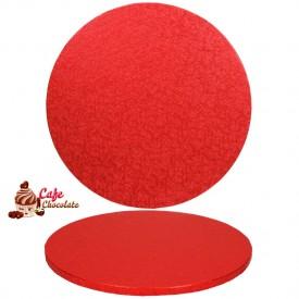 Gruba Tacka Czerwona Okrągła 30 cm