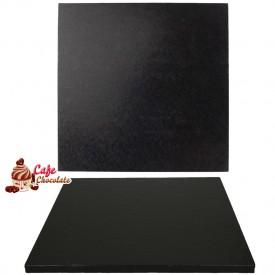 Gruba Tacka Czarna Kwadrat 30 cm