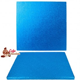 Gruba Tacka Niebieska Kwadrat 30 cm