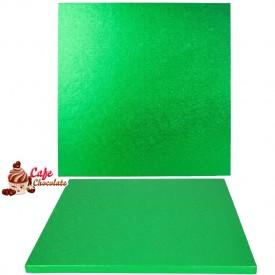 Gruba Tacka Zielona Kwadrat 30 cm