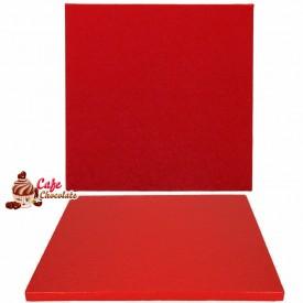 Gruba Tacka Czerwona Kwadrat 30 cm