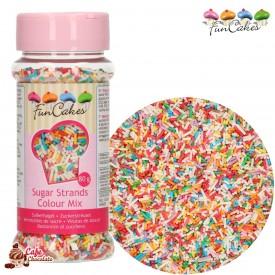 Konfetti Pałeczki Mix Kolorów 80g FunCakes