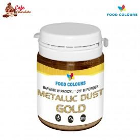 Food Colours Barwnik Pyłkowy Złoty 20g