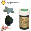 Sugarflair Barwnik ZIELEŃ OSTROKRZEWU - Holly Green 25g