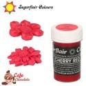 Sugarflair Barwnik CZERWONY WIŚNIOWY - Cherry Red 25g
