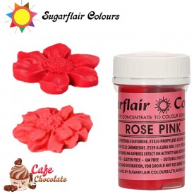 Sugarflair Barwnik RÓŻOWY RÓŻANY - Rose Pink 25g