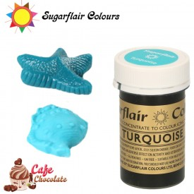 Sugarflair Barwnik TURKUSOWY - Turquise 25g