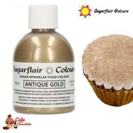 Cukier Dekoracyjny Antyczne Złoto Sugarflair