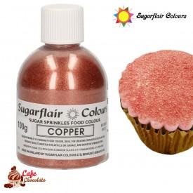 Cukier Dekoracyjny Miedziany Sugarflair