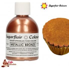 Cukier Dekoracyjny Bronze Brąz Sugarflair