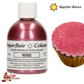 Cukier Dekoracyjny Bordowy Winny Sugarflair