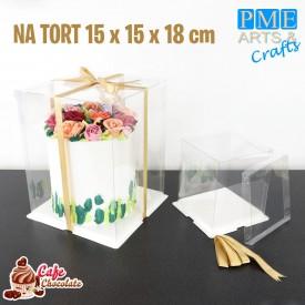 Pudełko Crystal Box 15 cm PME