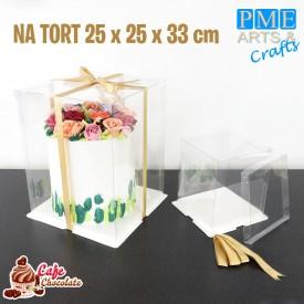 Pudełko Crystal Box 25 cm PME