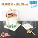 Pudełko Crystal Box 30 cm PME
