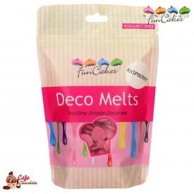 Polewa Różowa Deco Melts 250g FunCakes