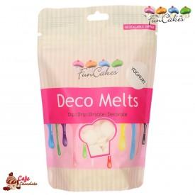 Polewa Biała Jogurtowa Deco Melts 250g FunCakes