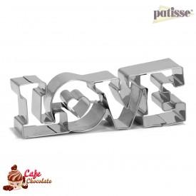 Wykrawaczka Napis LOVE 11 cm Patisse