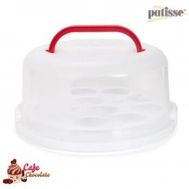 Okrągły Kuferek na tort lub muffiny 30 cm Patisse
