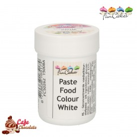 FunColours Barwnik Pasta Biały - Snow White 30g