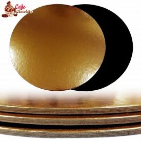Podkład Okrągły Lity 24 cm - ZŁOTY