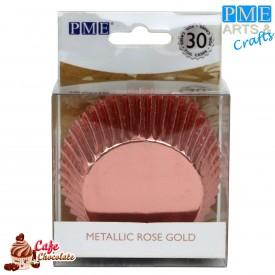 Papilotki Foliowane Rose Gold PME 50 mm