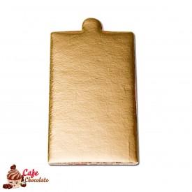 Bankietówka prostokątna 9x5 cm Złota 50 szt