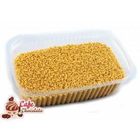 Perełki Maczki Złote nabłyszczane 1 mm