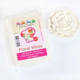 Masa Marcepanowa Kwiatowy Biały 20%