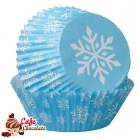 Papilotki Snieżynka Wilton 50 mm
