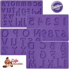Wilton Alphabet Numbers - LITERY i CYFRY