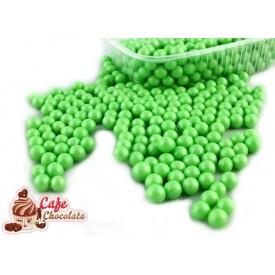 Perełki Zielone Perłowe nabłyszczane 5,5 mm