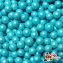 Perełki Niebieskie Perłowe nabłyszczane 5,5 mm