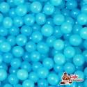 Perełki Niebieski Perłowe nabłyszczane 4 mm