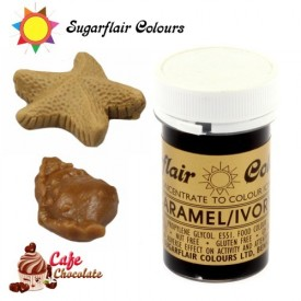 Sugarflair Barwnik KARMEL / BEŻ- Caramel / Ivory