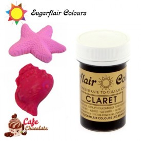 Sugarflair Barwnik BORDOWY - Claret