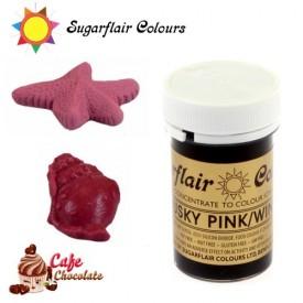 Sugarflair Barwnik CIEMNY RÓŻ - Disky Pink / Wine