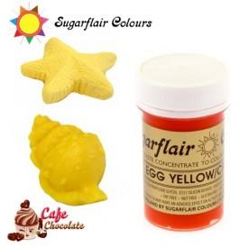 Sugarflair Barwnik JAJECZNY - Egg Yellow / Cream