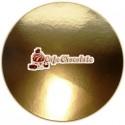 Podkład Okrągły 22cm - Złoty