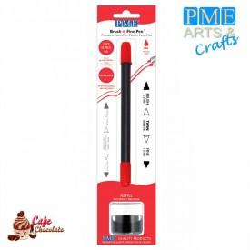 PME Pisak - Czerwony - Brush n Fine