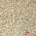 Maczek Perłowy Kremowy 2 mm