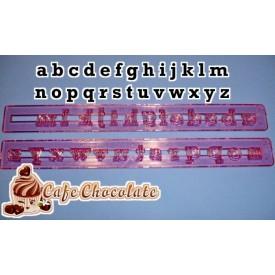 Wycinarka Alfabet MAŁE LITERY
