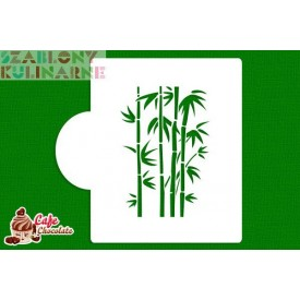 Szablon Bambus