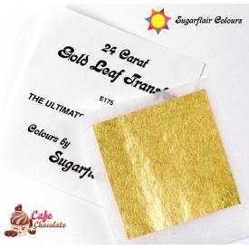 Sugarflair Jadalne Złoto Płatek 24 karaty